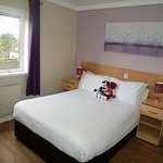 Double bedroom in our Chestnut accommodation