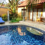 Private pool - lovely surroundings