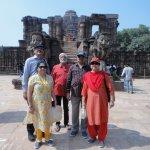 Our group at Konarak.