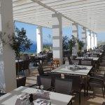 Außenterrasse vom Hauptrestaurant