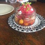hibuscus poached pear