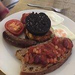 Breakfast - average at best.
