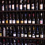 Wines on display at Bounty Hunter
