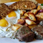 Tenderloin Steak and Eggs
