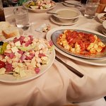 Bookmakers Salad and Baked Gnocchi