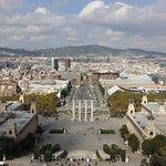 Museu Nacional d'Art de Catalunya - view from the terrace