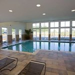 Enjoy our indoor heated pool.