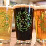 Enjoy local craft ales made just down the road at Quaff ON! Brewing Co.