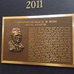 plaques of famous Naval aviators