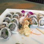 Eahoo and escolar. Rolls yummy and local
