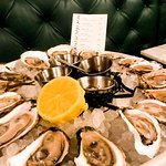 We got a variety of oysters and really fun to taste how different they all can be.
