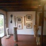 dentro de la galería