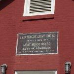 light house plaque