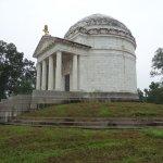 Memorial on Battlefield