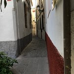One of the tiny lanes which lead from the hotel into the Albayzin, the Moorish quarter