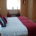 Two queen double beds