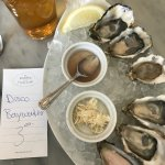 Raw oysters $22++