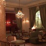 merveileux salons avant la salle de restaurant