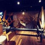 Part of the terrific riverboat exhibit