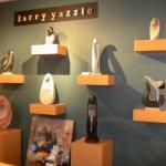 Larry Yazzie sculptures