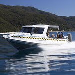 Water Taxi action in the Abel Tasman