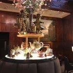 Russian tea room near lobby