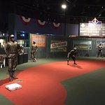 Baseball Diamond inside Museum