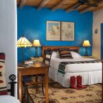 Our Heart of the House Room is warm and inviting, with a distinct Southwest style.