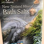 Selection of bath salts