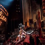 The set design for FOLLIES is an outstanding artistic achievement!