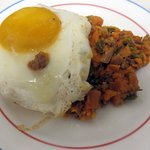 the sweet potato hash looks great - even for breakfast the next morning