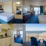 Oceanfront Suite, 1 King, 1 Queen and Sofa