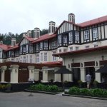 Hotel exterior - a real throwback to the colonial era