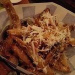 Roasted garlic parmesan fries. GET THEM!