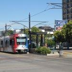 Plaza & Lite Rail Stop