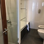 this is what I was asking, walk shower and bathtub separate!
