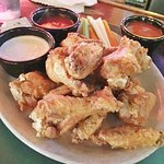 Chicken Wings with 3 dipping sauces