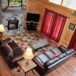 Living Room of Cabin #20