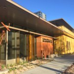 Kirkland Museum's new golden building at 1201 Bannock in Denver's Golden Triangle