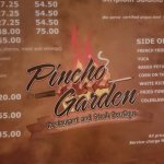 Menu in AUG prices