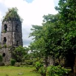 Another perspective of the tower, Mayon Volcano