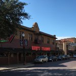 In the heart of the historic stockyards.