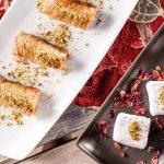 Desserts - baklava and Turkish delight
