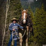 A passionate horsewoman, Trish Wilburn at Greenhorn Creek Guest Ranch