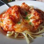 Shrimp Parmigiana Lunch