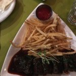 My ribs and frites.