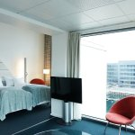 Junior Suite with harbour view.
