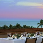 Rooftop Terrace Event Dining