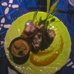 Mahimahi spring rolls