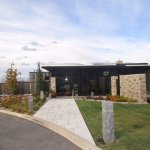 Redstone winery -- a modern, attractive building